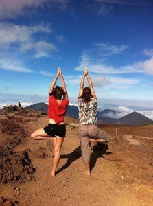 Sharon and her Daughter: good-enough yoga!